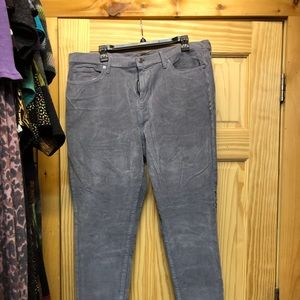 Corduroy pants, excellent used